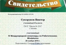 chapter member Suhorukov Viktor 3053100